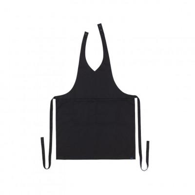 Küchenschürze V-neck Classic | Schwarz