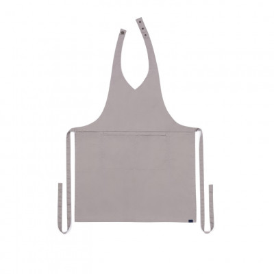 Küchenschürze V-neck Classic | Grau