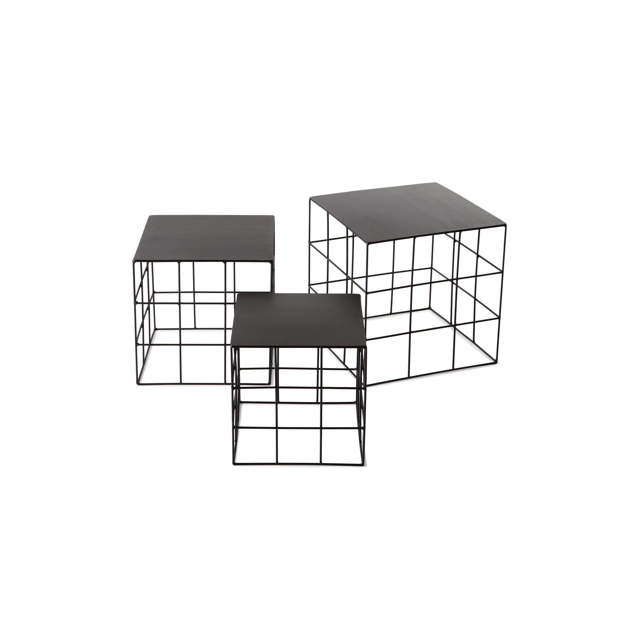 Reton Square Set of 3 | Coffee Table