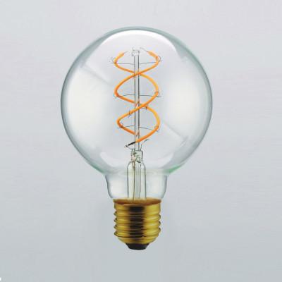 Light Bulb Curved Clear Maxi | Transparent