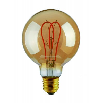 Light Bulb Curved | Gold