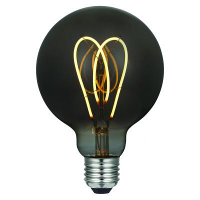 Light Bulb Curved Smoky