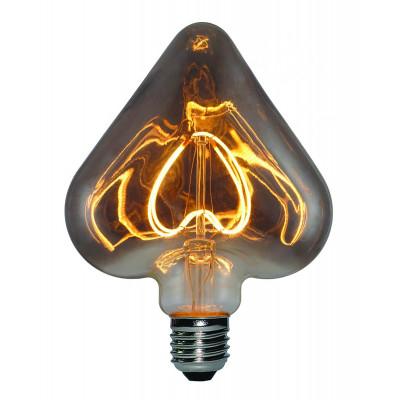 Light Bulb Curved Heart Maxi | Smoky Grey