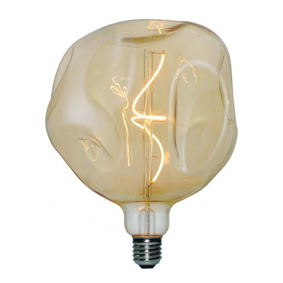 Light Bulb Filament Bumped Maxi | Gold