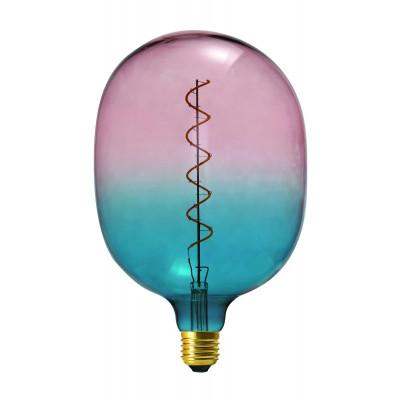 Light Bulb Coriandoli Egg Maxi | Blue / Pink