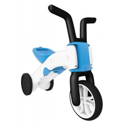 Bunzi 2-in-1 graduelle Balance Fahrrad Blau