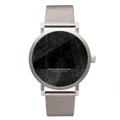 Signature Alpha Watch | Silver Steel