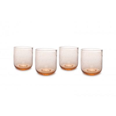 4er-Set Glas Sparkle 33 cl | Pfirsich