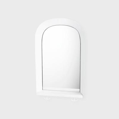 Portal-Spiegel   Weiß