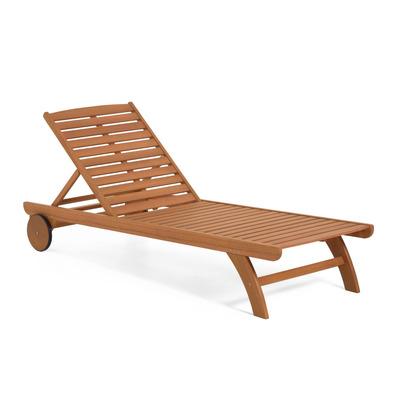 Sonnenliege Beila | Helles Holz