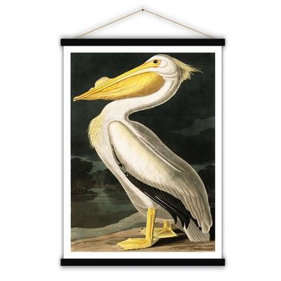 Vintage Poster | Weißer Pelikan