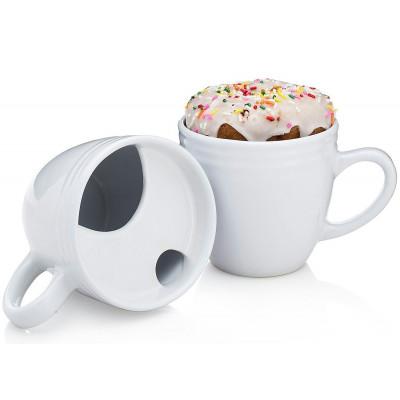 The BEST. MORNING. EVER. Mug Set of 2 | White