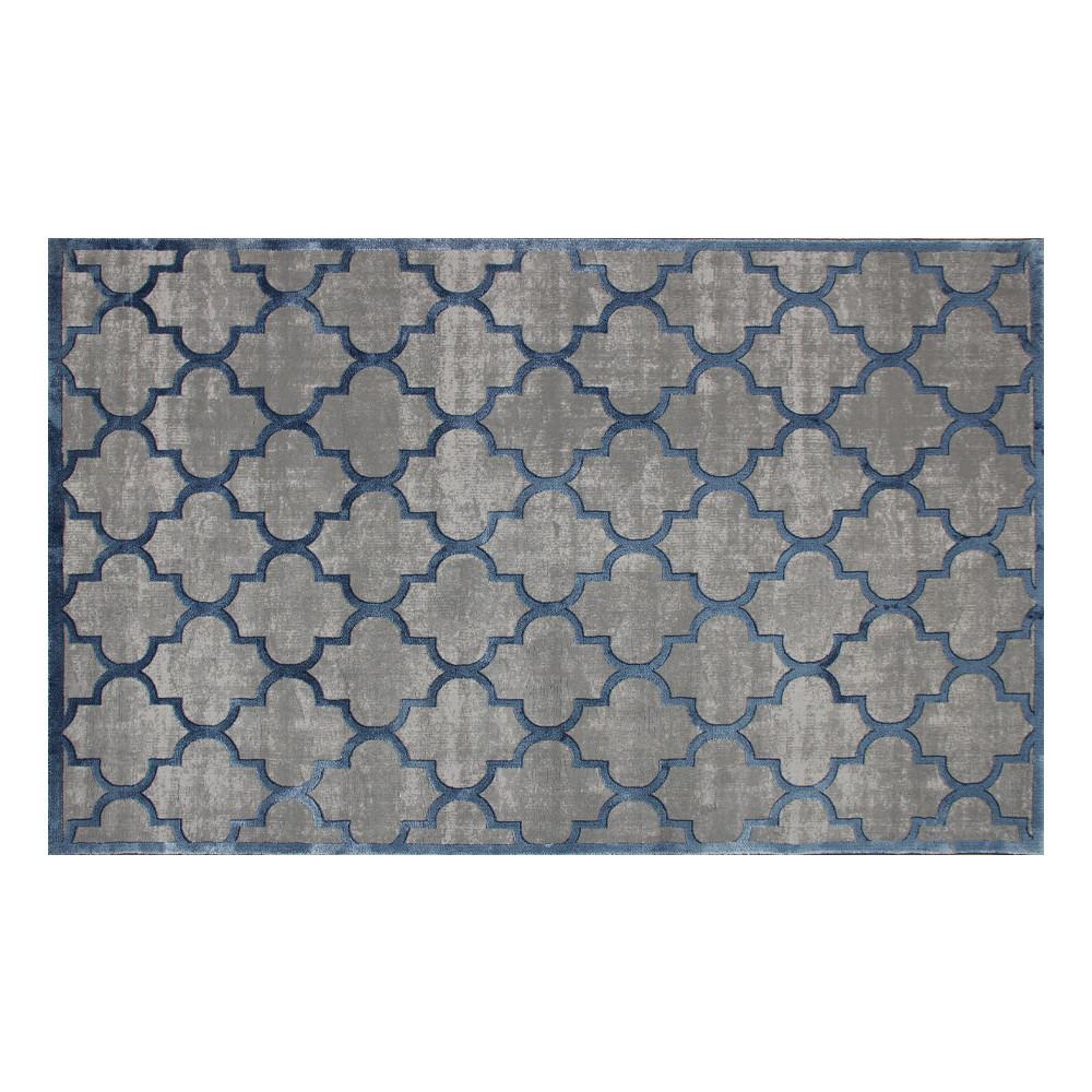 Teppich CM 04 | Grau, Blau