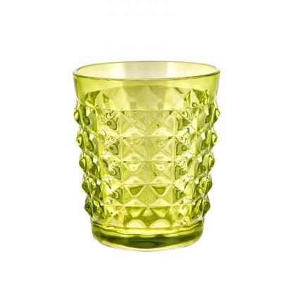 Tiffany Tumbler Green   Set of 6