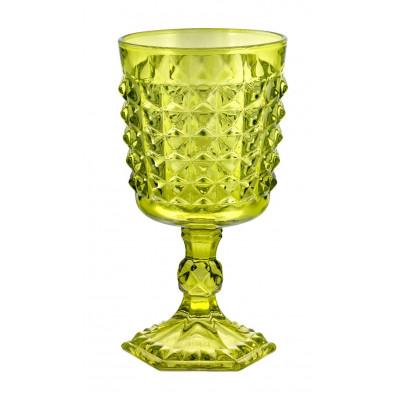 Tiffany Wine Green   Set of 6