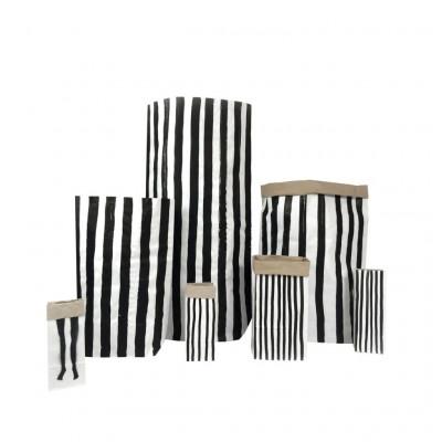 Paper Bag   Vertical Stripes