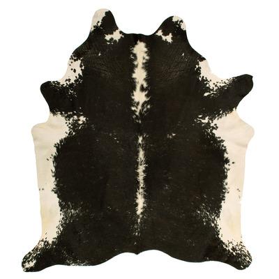 Woooly® Einzigartig Kuhhaut    Schwarz, Grau, Weiß und Creme