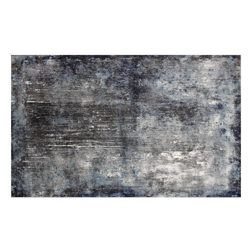 Teppich EX 02 | Grau, Blau-80 x 150 cm