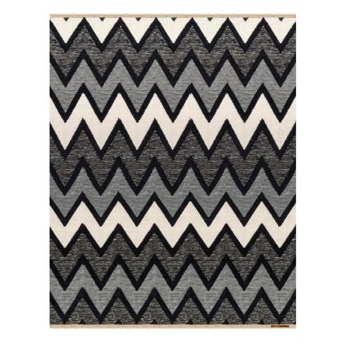 Teppich Zack | Grau