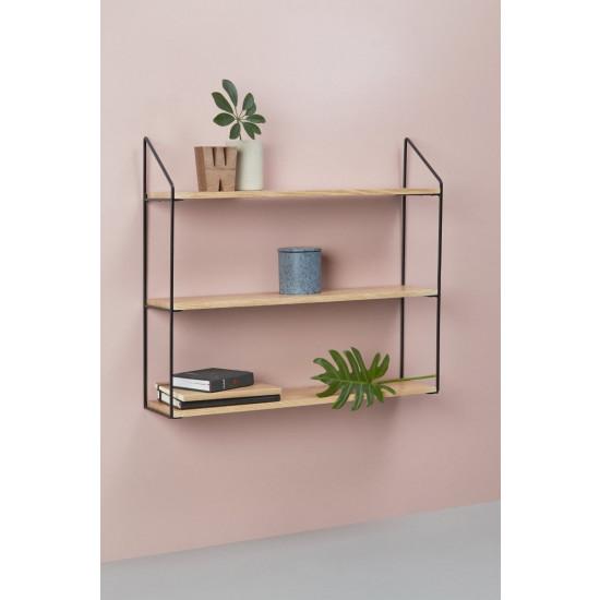 Wall Rack 3 Shelves   Natural