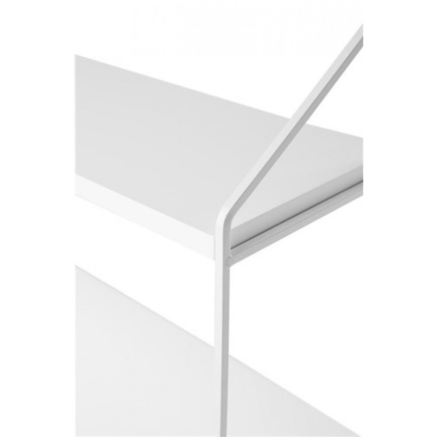 Wandrek 3 Planken | Wit