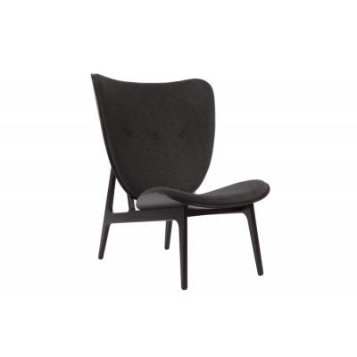 Elephant Chair | Schwarz / Wolle-Kohle-Grau
