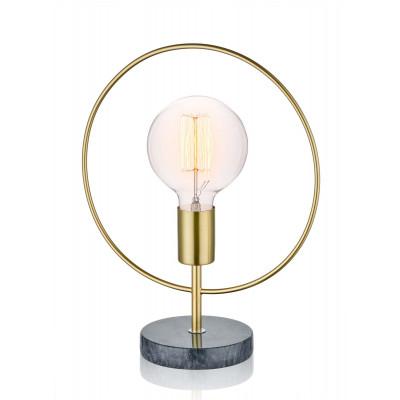 Tischlampe Rund | Gold