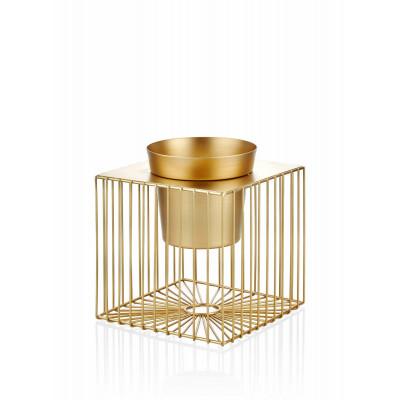 Dekoratives Pot | Gold