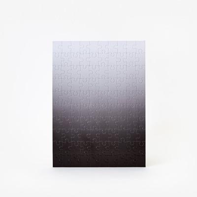 Puzzle Gradient 100 Teile | Schwarz & Weiß