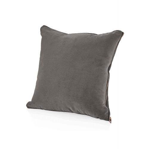 Kissen Velvet   Grau