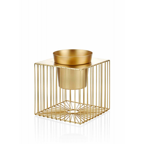 Dekoratives Pot   Gold