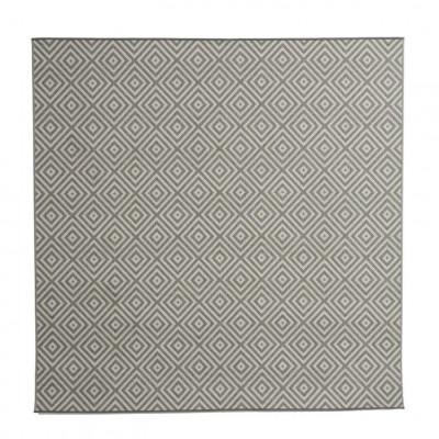 Teppich Evora 200 x 200 | Grau