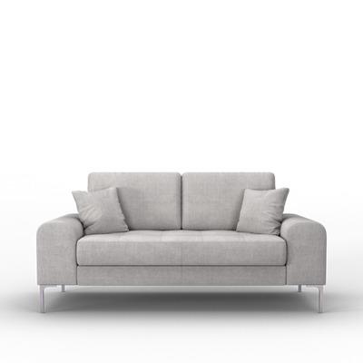 2-Sitzer-Sofa Rime | Hellgrau