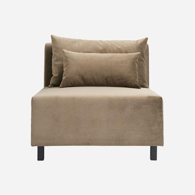 1-Sitzer-Sofa Mittelteil Slow   Sand