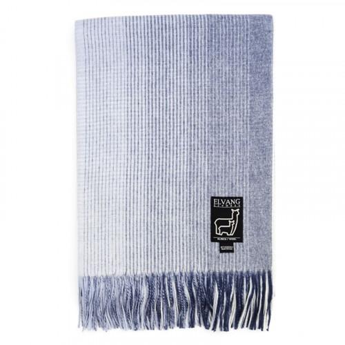 Basket deken   Blauw