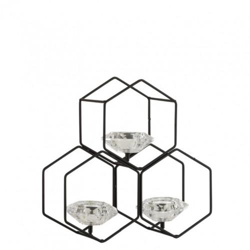 Teelichthalter Bienenwabe Klein