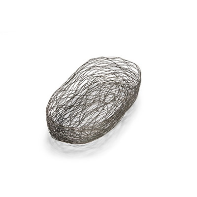 2-teiliges Korbset Nest   Grau