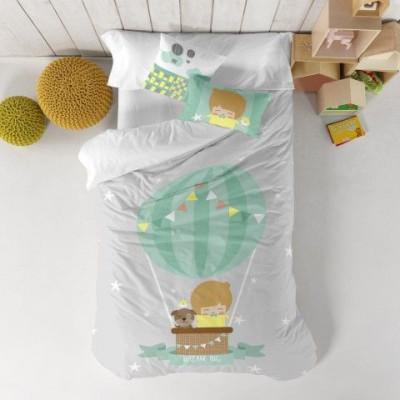 Duvet Cover 140 x 200 cm & Pillow 40 x 40 cm   Air Balloon