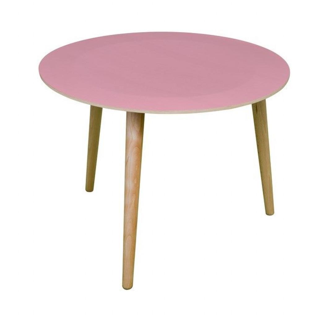 Table basse Bruna rose clair