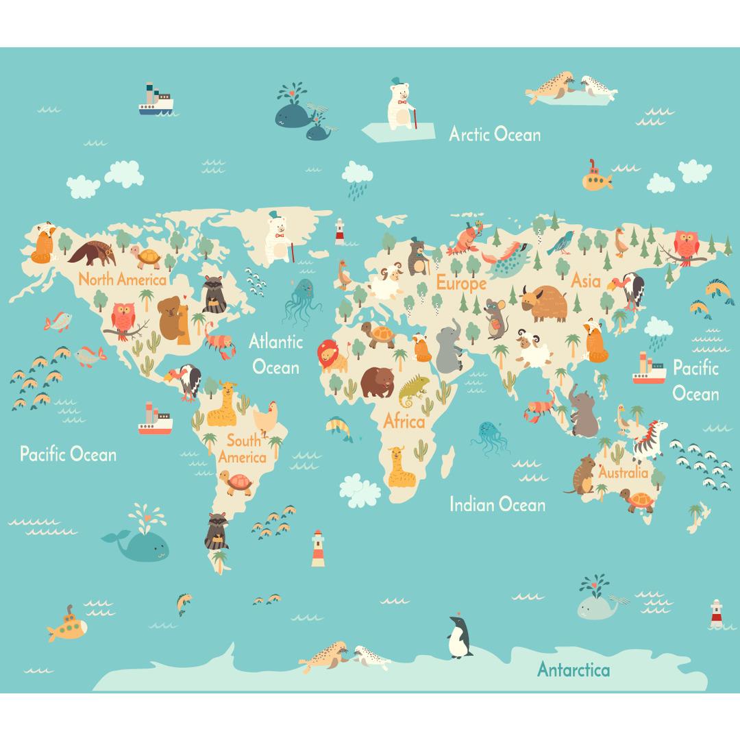 Tasche World Map