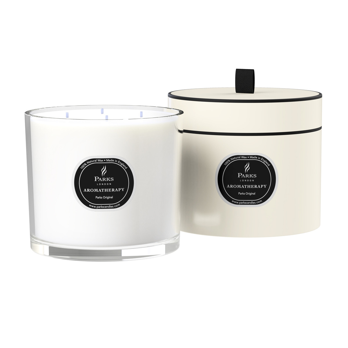 Duftkerzenparks Original - Vanille, Patchouli & Lavendel