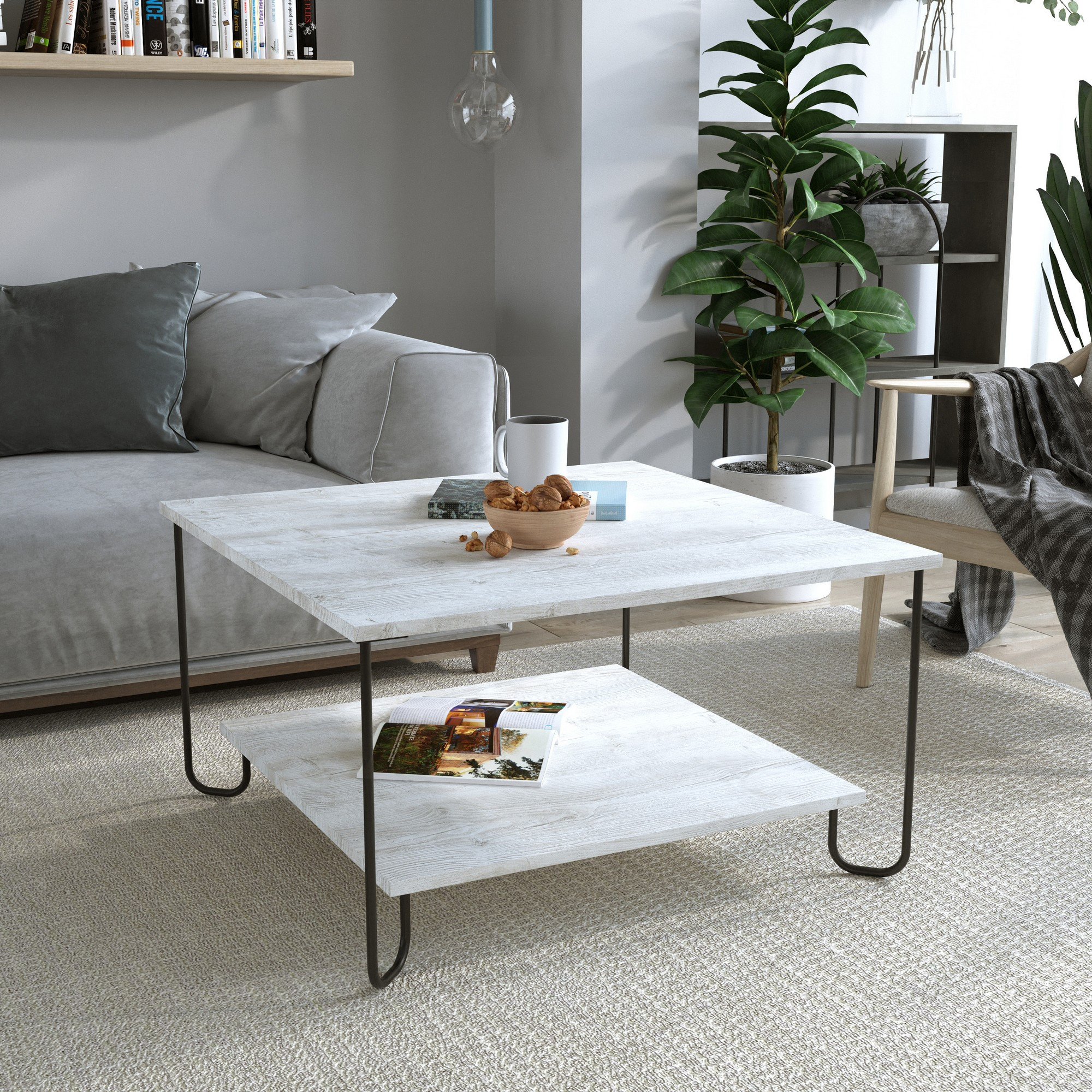 Coffee Table Marbo | White