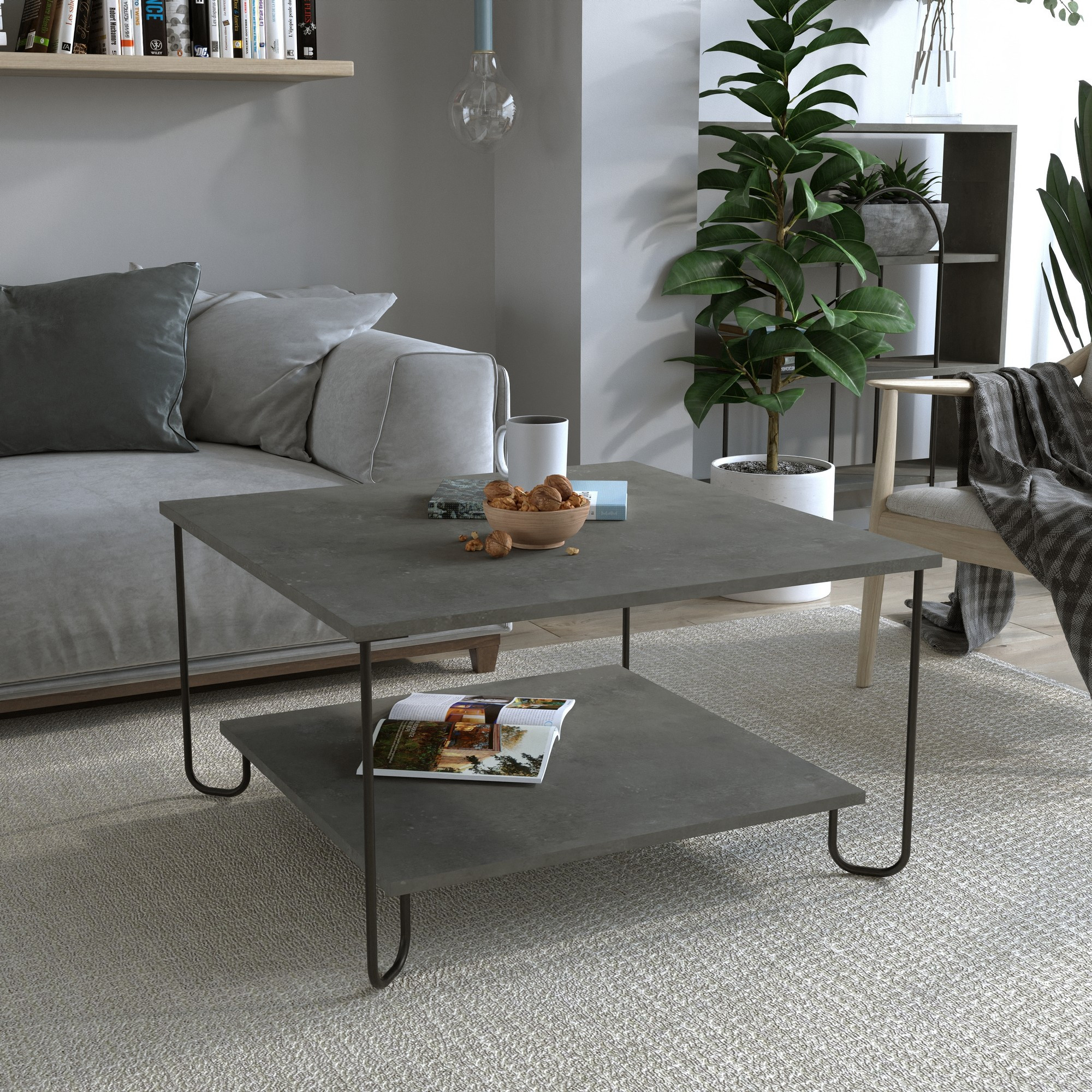 Coffee Table Marbo | Grey