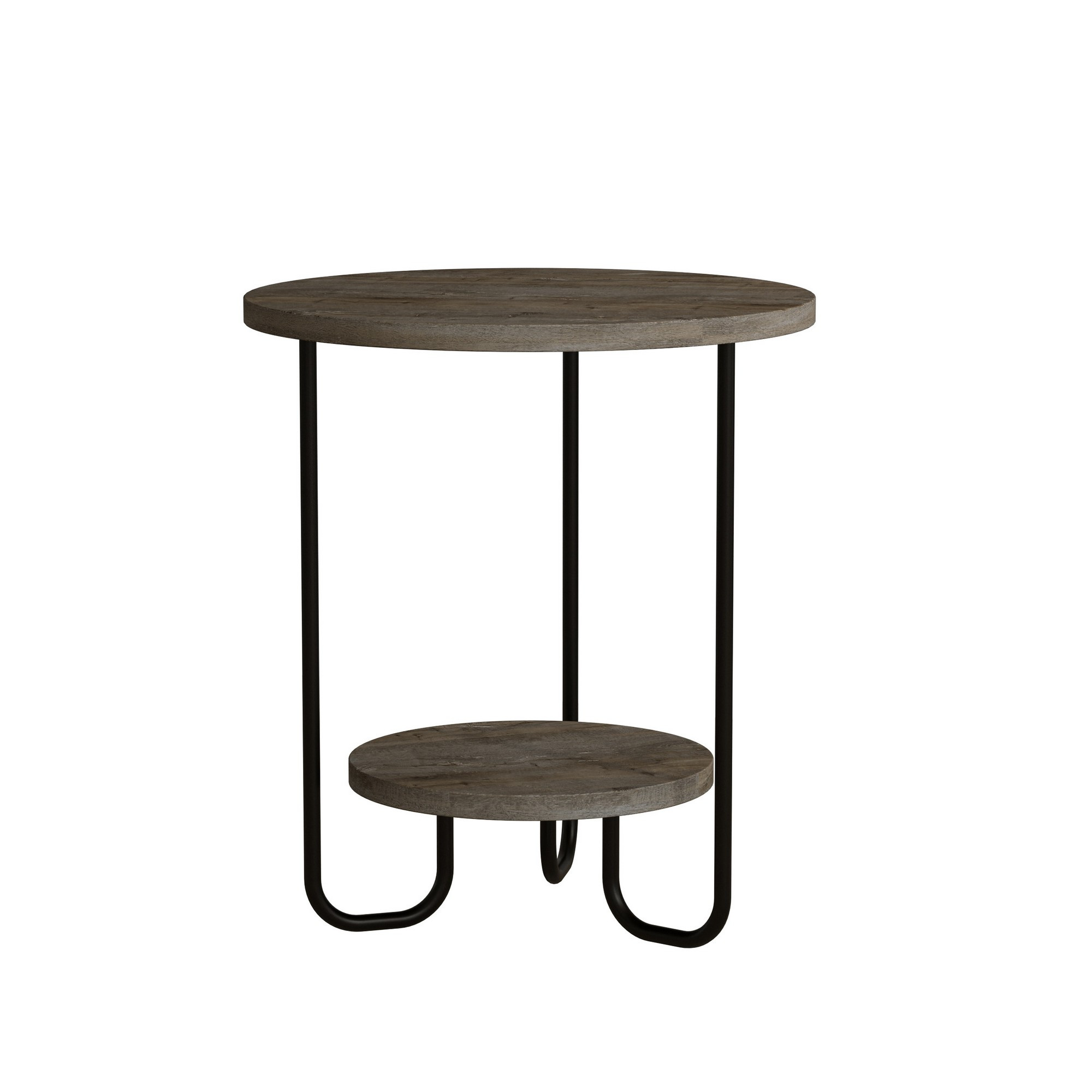 Side Table Corro 40 x 40 x 45 cm | Dark Brown