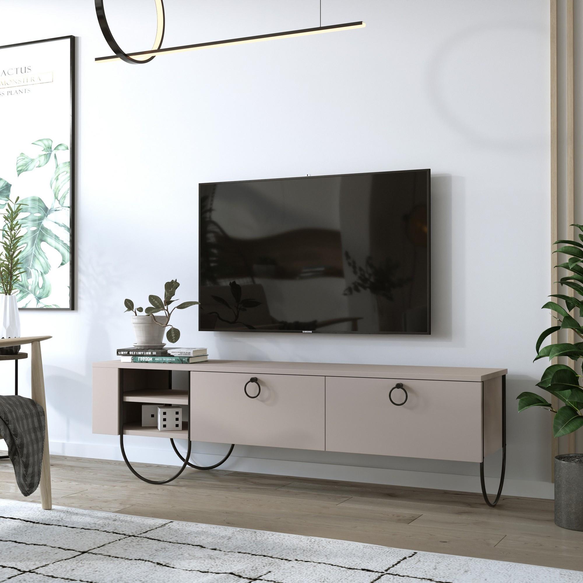 TV-Möbel Norfolk | Hellbraun