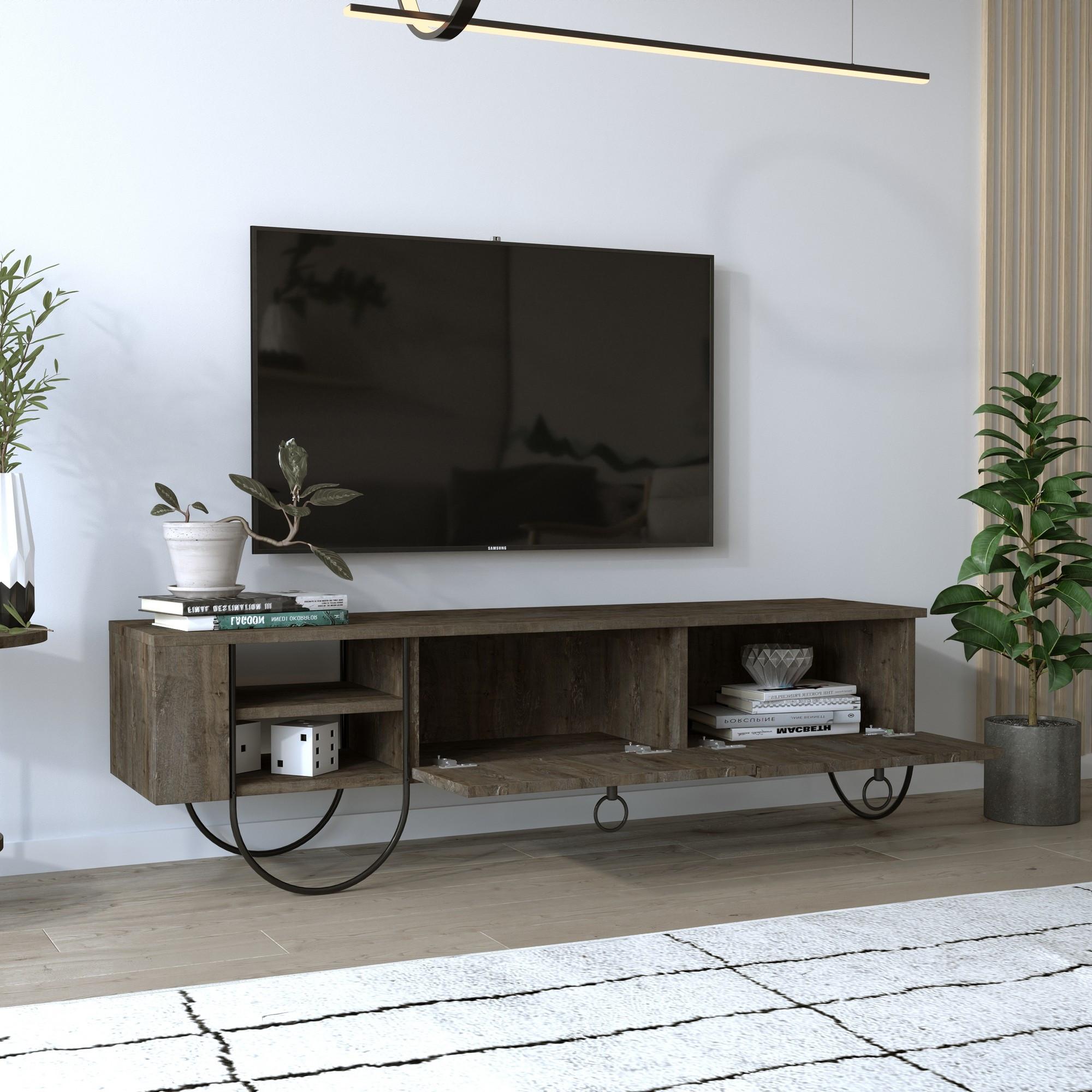 TV-Möbel Norfolk   Dunkelbraun