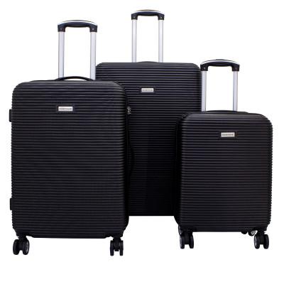 3-Teiliges Trolley-Set ABS mit TSA-Schloss Richmond 2.0   Schwarz