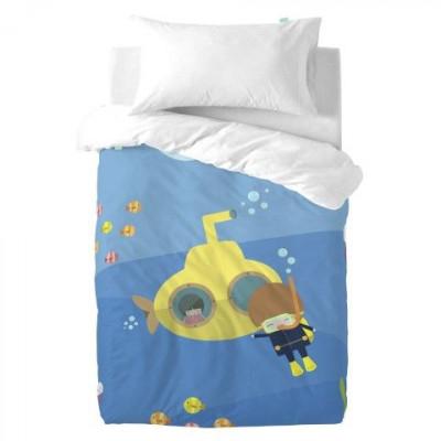 Duvet Cover 100 x 120 cm & Pillow 50 x 30 cm   Yellow Submarine