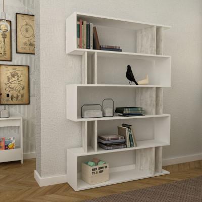 Bücherregal Partiro | Weiß