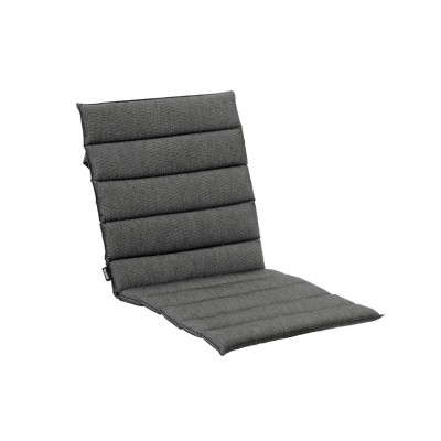 Verbundenes Sitz-/Rückenkissen | Grau